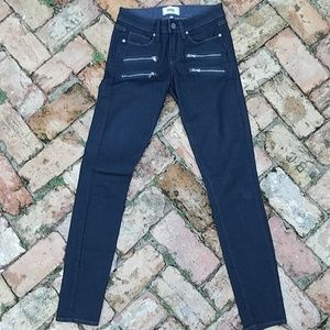 PAIGE Jeans Edgemont skinny size 25 dark blue